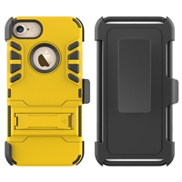 iPhone 7 / 8 Armor Holster Combo Case - Gold