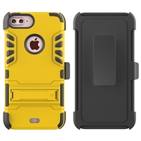 iPhone 7 / 8 Plus Armor Holster Combo Case - Gold