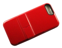 iPhone 7 / 8 Plus Armor Hybrid Case with Card Slot - Red