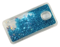 Samsung J7 Refine / J7 Star / J737 / J7 2018  Liquid Glitter TPU Case - Blue