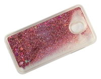 Samsung J7 Refine / J7 Star / J737 / J7 2018  Liquid Glitter TPU Case - Rose Gold