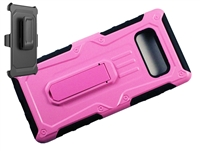 Samsung Galaxy Note 8 Armor Holster Combo Case- Pink