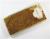Samsung Galaxy Note 9 Liquid Glitter TPU Case - Gold