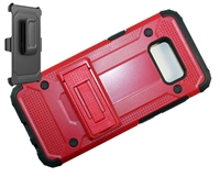 Samsung Galaxy S 8 Armor Holster Combo Case - Red