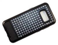 Samsung Galaxy S8 Crystal Diamond Case - Black