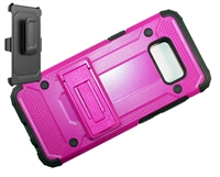 Samsung Galaxy S 8+ Plus Armor Holster Combo Case - Pink