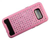 Samsung Galaxy S8+ Plus Crystal Diamond Case - Pink