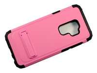 Samsung Galaxy S9 Armor Case with Kickstand - Pink