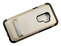 Samsung Galaxy S9 Plus Armor Case with Kickstand - Gold