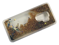 Samsung Galaxy S9 Liquid Glitter TPU Case - Gold