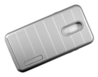 LG Stylo 5 New CF Armor Case - Silver