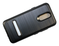 LG Aristo 4+ / Escape Plus / Tribute Royal / X320 Armor Case with Magnetic Kickstand - Black