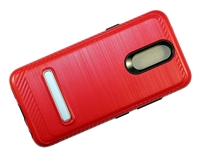 LG Aristo 4+ / Escape Plus / Tribute Royal / X320 Armor Case with Magnetic Kickstand - Red