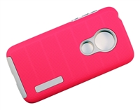 Moto G7 Play XT1952 / REVVLRY New CF Armor Case - Pink