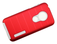 Moto G7 Play XT1952 / REVVLRY New CF Armor Case - Red