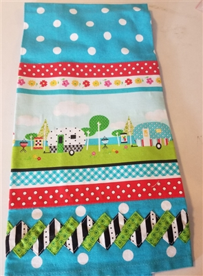 Camper Tea Towel Kit