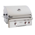 "AOG 24"" ""T"" Series Built-in Grill with Rotisserie NAT GAS"