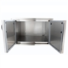 "BLAZE 32"" Stainless Steel Enclosed Dry Storage Cabinet with Shelf (BLZ-DRY-STG)"