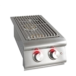 BLAZE Built-in Double Side Burner with Lights (BLZ-SB2LTE)