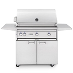 "LYNX 36"" Freestanding Grill with 2 Ceramic Burners, 1 Trident Burner and Rotisserie (L36TRF)"