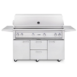 "LYNX 54"" Freestanding Grill with 3 Ceramic Burners, 1 Trident Burner and Rotisserie (L54TRF)"