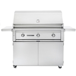 "SEDONA by Lynx 42"" L700-Series Grill with One ProSear1 Burner, Two Stainless Steel Burners and Cart ((L700PSF)"