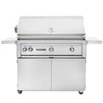 "SEDONA by Lynx 42"" L700-Series Grill with One ProSear1 Burner, Two Stainless Steel Burners, Rotisserie and Cart (L700PSFR)"