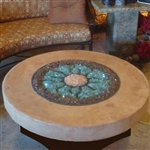 "ORIFLAMME Tuscan 42"" Round Fire Table"