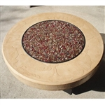 "ORIFLAMME Tuscan 48"" Round Fire Table"