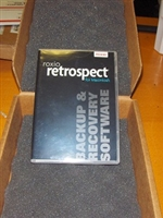 Roxio Retrospect Single Server 20 CLT for Macintosh v. 9