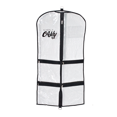 Simply Caddy Set of 5 Costume Garment Bags Black Trim