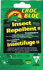Insect Repellent Towelette (Croc Bloc)