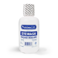 Eye Wash Solution 500 ml w/built in eye cup