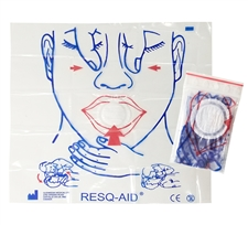 CPR FACE SHIELD 100pcs