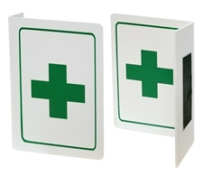 "First Aid Sign - Projecting Safety Sign ""L"" shape"