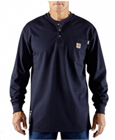 Carhartt Men's FR Force® Long-Sleeve Henley