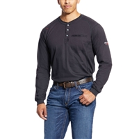 Ariat Men's FR Long-Sleeve Crew Henley