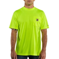 Carhartt Men's Force® Hi-Vis Color Enhanced Short Sleeve T-Shirt 100493