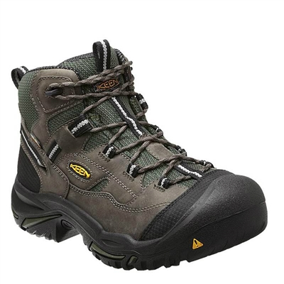 "KEEN Utility Men's 6"" Utility Braddock Waterproof Steel-Toe Boot 1011243"
