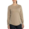 Carhartt Women's FR Force Cotton Long Sleeve T-Shirt 102685