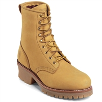 "Chippewa Men's 8"" Steel Toe Golden Nubuc Insulated Logger 73040"