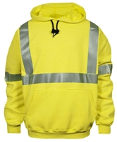 NSA Men's Hi-Vis Hooded Pullover Sweatshirt