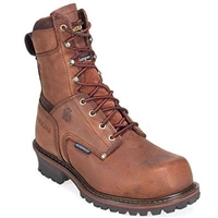"Men's Carolina 8"" Waterproof Insulated Steel Toe Logger"