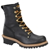 "Men's Carolina 8"" Waterproof Steel Toe Logger"