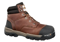 "Carhartt Men's 6"" Brown Waterproof Composite Toe Work Boot CME6355"