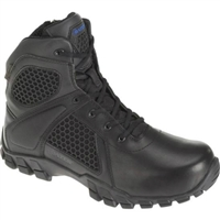 "Bates Men's 6"" Strick Waterproof Side Zip Non-Metallic Tactical Boot E07006"