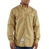 Carhartt Men's FR Classic Twill Button-Up Work Shirt