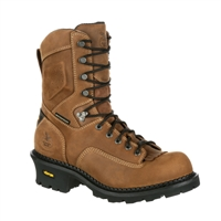 "Georgia Boot Men's 9"" Comfort Core Waterproof Composite Toe Logger GB00097"