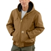 Carhartt Men's Duck Active Jacket / Quilted Flannel Lined