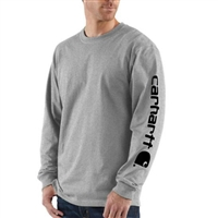 Carhartt Men's Outerwear Long Sleeve Logo T-Shirt K231
